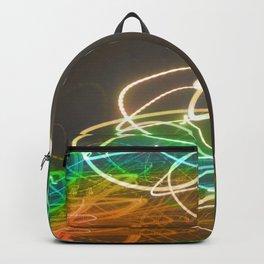 Rainbow Light Graffiti Backpack