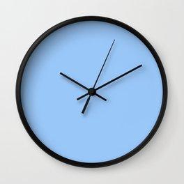 Simply Sky Blue Wall Clock