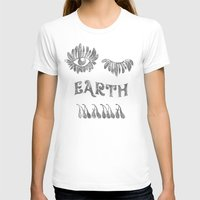 woodstock T-shirts featuring Earth mama by daniroxanne