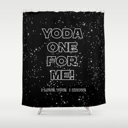 Star Crossed lovers 1 Shower Curtain