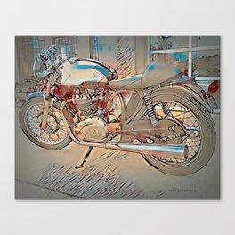Vintage Triton Cafe Racer - Circa 1952 Canvas Print
