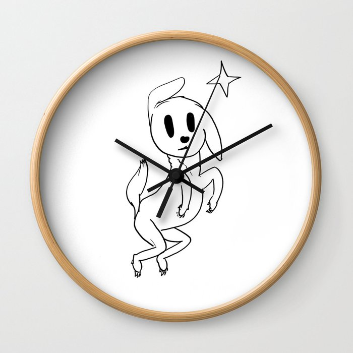 Wizz Wall Clock