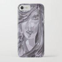 plain iPhone & iPod Cases featuring Plain Jane by Sartoris ART