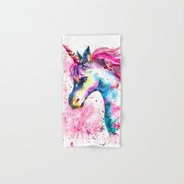 Pink Unicorn Hand & Bath Towel