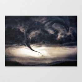 Tornado Dragon Canvas Print