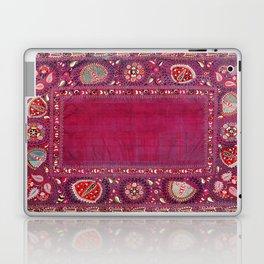 Shakhrisyabz  Southwest Uzbekistan Suzani Embroidery Print Laptop & iPad Skin