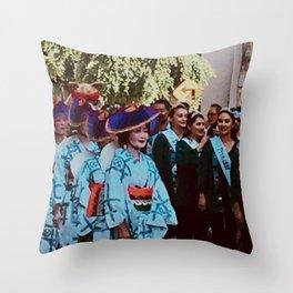 Festival Day Throw Pillow