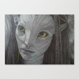 Neytiri from Avatar Canvas Print