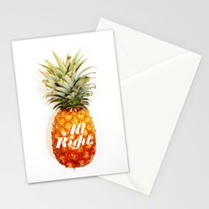 All Right. (Tropical) Stationery Cards