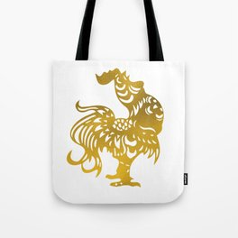 Golden Rooster - Year of the Rooster 2017 Tote Bag