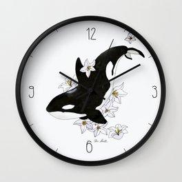 Killer Whale Wall Clock