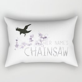 Chainsaw - TRC Rectangular Pillow