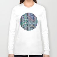 xoxo Long Sleeve T-shirts featuring xoxo by Marta Olga Klara