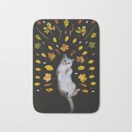 Kitty Harvest (Color) Bath Mat