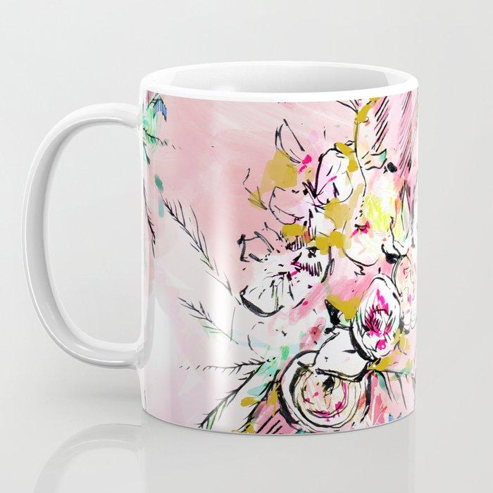 FLORAL ARROW Coffee Mug