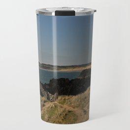 Towards Malltraeth Beach Travel Mug