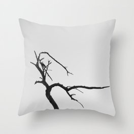 Abstract Dead Tree Throw Pillow