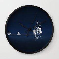 Jazz civilization Wall Clock