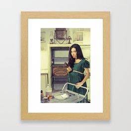 Madame Kaká Framed Art Print