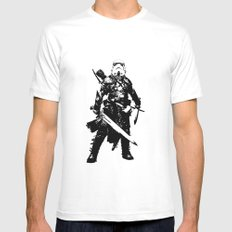 Fantasy Trooper Mens Fitted Tee MEDIUM White