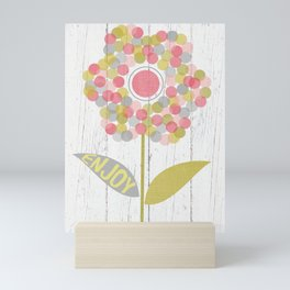 Dot Flower Mini Art Print
