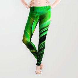 Curls Deluxe Green Leggings
