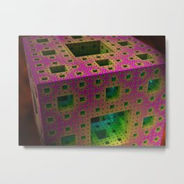 Cubed^4 Metal Print