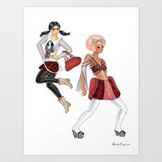 Fashion Journal: Day 15 Art Print