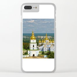 Golden Domes of  Kiev Clear iPhone Case