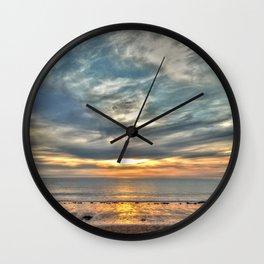 Sunset on the Llyn Peninsula Wall Clock