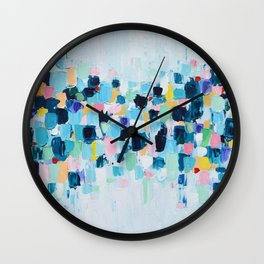 Spotted Sky Wall Clock