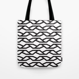 K Pattern Tote Bag
