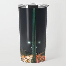 Car Lights Travel Mug