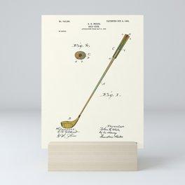 Golf Club Patent - Circa 1903 Mini Art Print