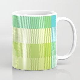 Summer Plaid 21 Coffee Mug