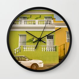 Bo-Kaap Cape Town Wall Clock