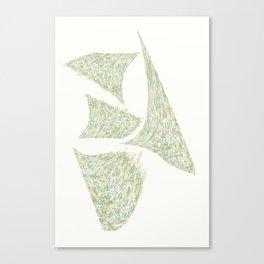 """ SPLATS - W "" Canvas Print"