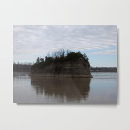 mysterious island II Metal Print