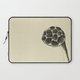 i looked up and you were gone - lotus flower (wasatch, utah) Laptop Sleeve