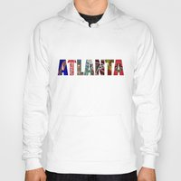 atlanta Hoodies featuring ATLANTA by Mental Activity