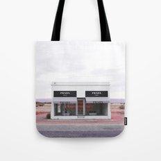 Pink Marfa Tote Bag