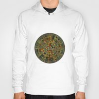 calendar Hoodies featuring Ancient Calendar by Klara Acel