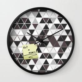Not a Mimic! Wall Clock