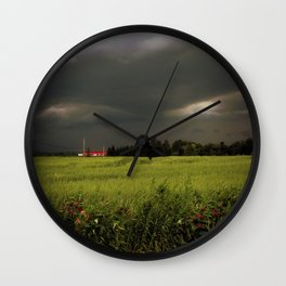 Rolling Thunder, Warm Winds Wall Clock