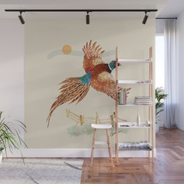 male pheasant Wall Mural