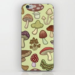 Mushroom Circle iPhone Skin