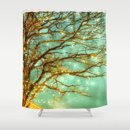newly magical reversed Shower Curtain