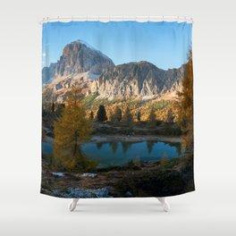 Dolomites 21 - Italy Shower Curtain