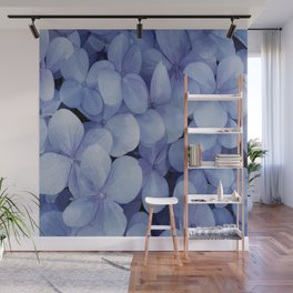 Hydrangea Florets Wall Mural