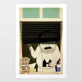 Merv the Perv Art Print